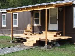 Deck Designs For Manufactured Homes Porch Designs For Mobile Homes Best Manufactured Home Ideas