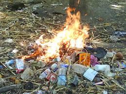 Sancionarán hogares por quema clandestina de basura