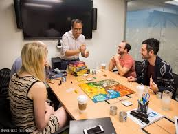 Fun Business Games This Is What Employees At Top Companies Do For Fun Business Insider