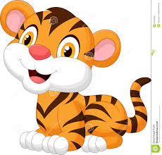 cute animated baby tigers. Unique Baby Cute Baby Tiger Cartoon Throughout Animated Baby Tigers R