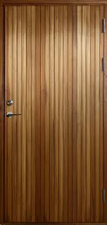 Entry door / swing / solid wood - RESÖ - BOVALLS