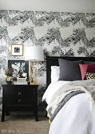 Master Bedroom Accent Wall Master Bedroom Accent Wall With Wallpaper This Is Our Bliss
