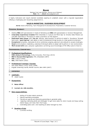Sample Resume Format For Experienced Professionals Resume Online
