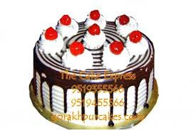 Black Forest Cake 500 Gm Delivery Gorakhpur Online Cakes For Wife