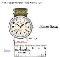 Watch Band Size Chart 3 Easy Steps To Find Your Strap Size The Watch Prince