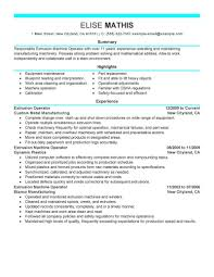 Best Extrusion Operator Resume Example Livecareer