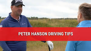 PETER HANSON DRIVING TIPS - YouTube