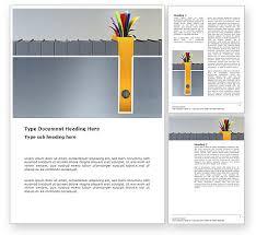 Word Document Template Design Document Filing Word Template 03322 Poweredtemplate Com