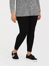 Details About Torrid Womens Full Length Platinum Sweater Leggings Black Plus Size 4 26
