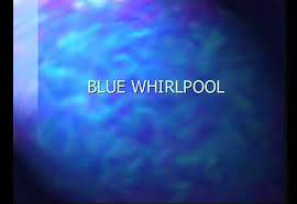 Blue Powerpoint Theme Blue Whirlpool Powerpoint Template