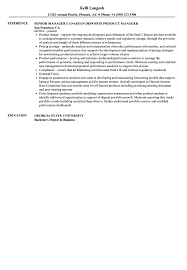 Product Manager Resume Sample Product Manager Resume Example Examples of Resumes 80