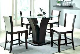 glass top pub table high medium size of furniture intended for plans round set bistro 2