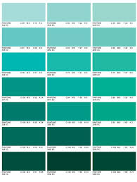 Aqua Color Chart Teal Paint Chips Maybe An Accent Color For The Bathroom
