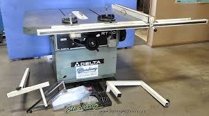 used delta table saw. 16\u0027\u0027 used delta table saw, mdl. rt-40-96789, saw a