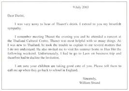 Death In Family Condolence Letter Example Ideas Sample Of Sympathy ...