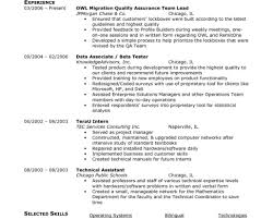 Ecommerce Resume Sample Qa Tester Resume Samples Professional Ecommerce Compatible 23