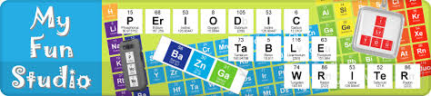 Chemistry Chart Template Mesmerizing Periodic Table Writer Chemistry Elements My Fun Studio