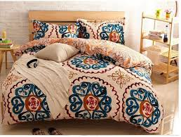 Yellow blue vintage bedding comforter sets king queen size duvet ... & Yellow blue vintage bedding comforter sets king queen size duvet cover  bedspread bed in a bag Adamdwight.com