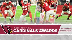 Arizona Cardinals Rb Depth Chart 2017 Cardinals Awards For 2017