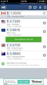 Xe Currency Converter Chart Best Currency Conversion Apps For Iphone Imore