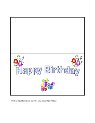 Birthday Card Template Word Also Card Ms Word Greeting Card Template ...