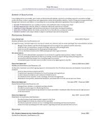 Executive Assistant Resume Objective Objective For Resume For Administrative Assistant Sevte 99