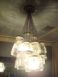 bead and ruffle chandelier