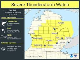 Severe Thunderstorm Watch ...