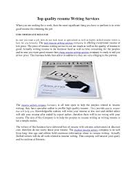 Are Professional Resume Writers Worth the Investment