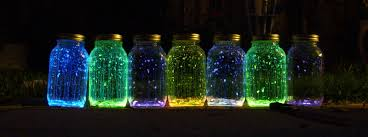 Homemade Lighting Ideas Colorful Mason Jars Homemade Lighting Ideas