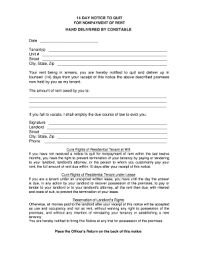 30 day notice to landlord form 15 printable 30 day notice to landlord pdf forms and templates