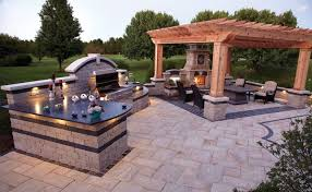 landscaping and outdoor building sophisticated outdoor kitchen designs large outdoor kitchen designs with fireplace