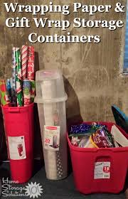 Wrapping Paper And Gift Wrap Storage Containers For Your Home On Home  Storage Solutions 101  Container U31
