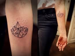 Minimal Forearm Geometric Tattoo