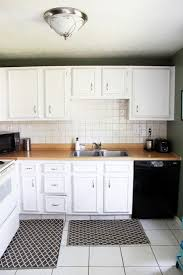how to install a crown molding to kitchen cabinets justagirlandherblog com
