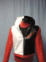 disney descendants carlos costume faux leather jacket image 0