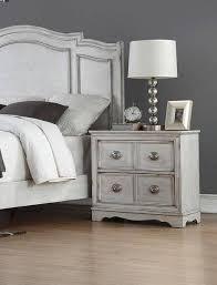 Bernards Furniture Toulon Antique White 1616-110 King Bedroom Set ...