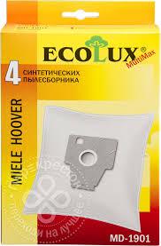 Купить <b>Мешок</b>-пылесборник EcoLux MD1901 синтетический для ...