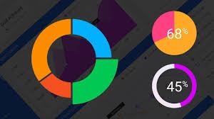 Pie Chart Photoshop How To Create Doughnut Charts And Pie Charts In Photoshop Adobe Photoshop Tutorial Designspace