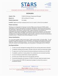 Sample Of Student Resume New Business Development Resume American