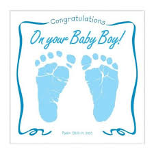 Congratulation On A Baby Congratulations On Your Baby Boy Musical Cd Greeting Card