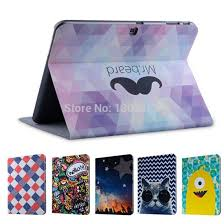 Picture of cases for samsung galaxy tab four ten.one T530 leather-based Cases protect cartoon