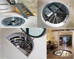 Charming Wine Cellar Spiral Staircase Design Ideas : Charming Interior  Design Ideas With
