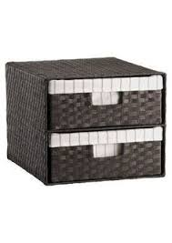 office storage baskets. Storage Bins And Baskets 159898: Square Woven 2 Drawer Decorative Organizer Home Decor Office ,