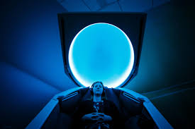 Light And Sound Meditation Method High Tech Meditation Pod Relieves Stress Caused By Tech Cnet