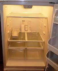 kenmore fridge inside. kenmore 18.2 cu. ft. refrigerator top mount w/ice maker fridge inside