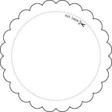 printable frame templates printable circle tags template round frame template large
