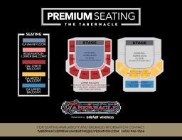 Tabernacle Atlanta Seating Chart Tabernacle Atlanta