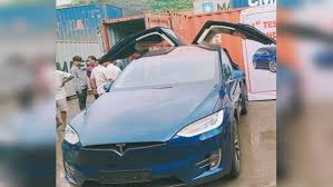 Tesla model 3, tesla model s and tesla model x are launching soon in india at an estimated price of rs. India S First Tesla Model X 100d Lands In Mumbai Drivespark News