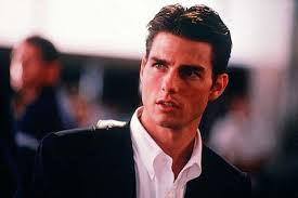 pictures mr cruise looking very swift in an elevator as jerry maguire the golden boy looking down at his watch in mission impossible as ethan hunt